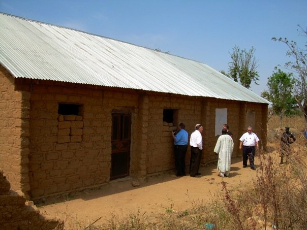 village church in Nigeria