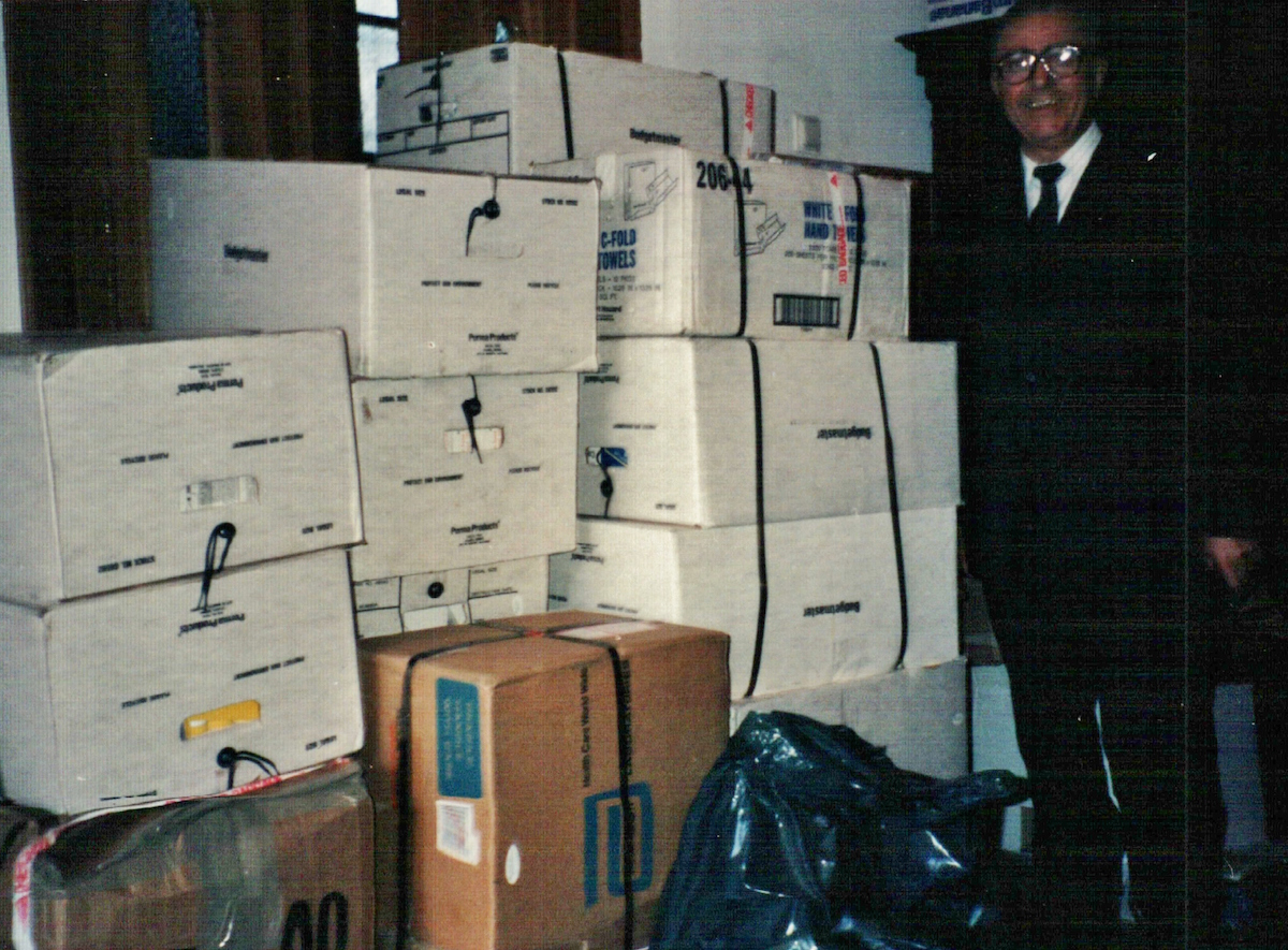 3 First large shipment of Bibles after revolution